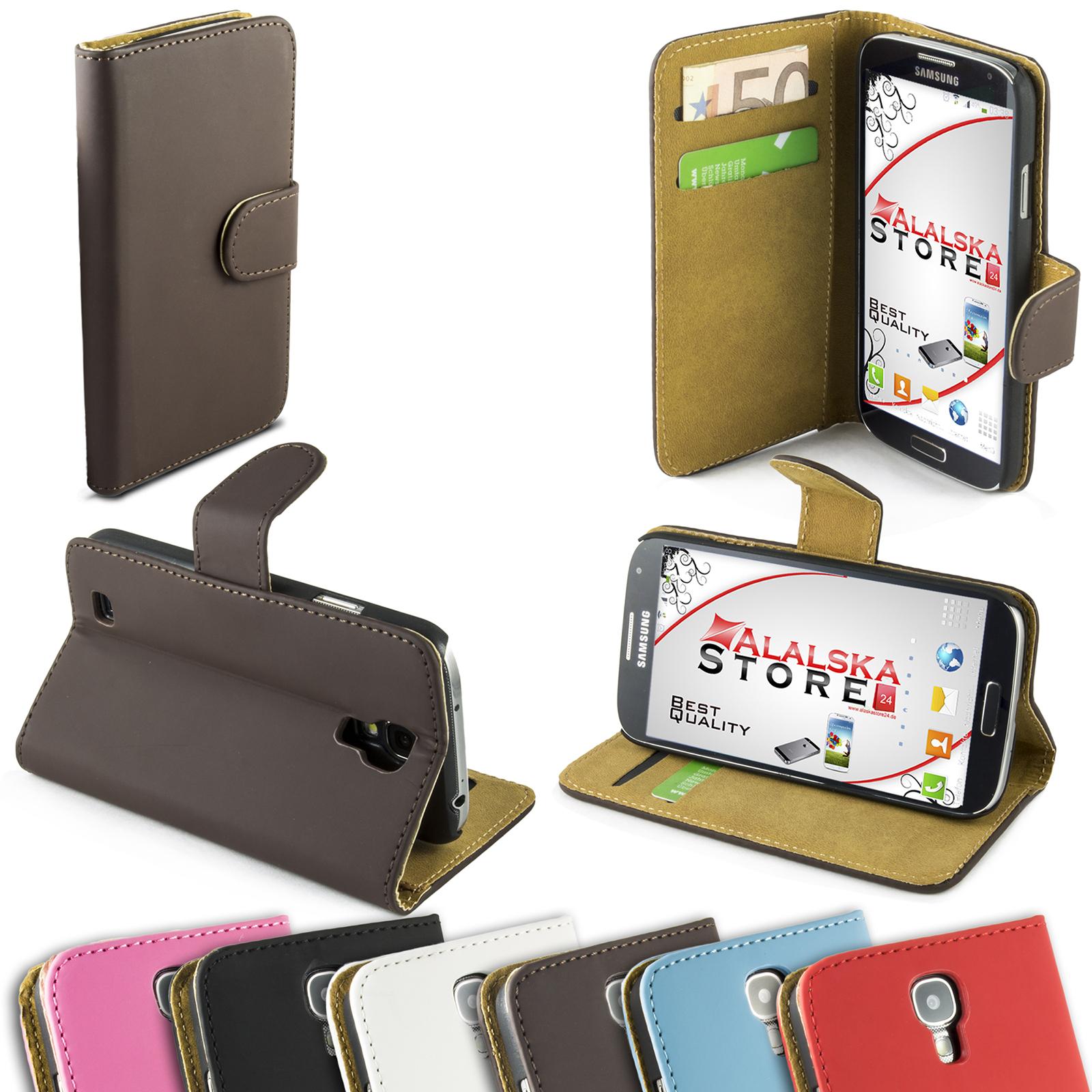Braun-Case-fuer-Samsung-Galaxy-S4-GT-i9500-GT-i9505-Matt-Schale