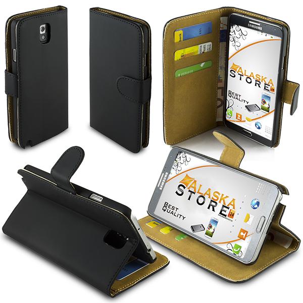 Handy Flip Tasche für Samsung Galaxy Note 3 N9000 N9005 Case KingserieVGR1A