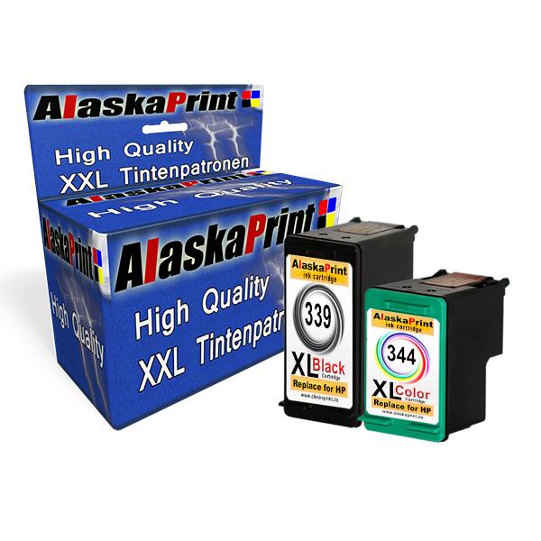 SET-2-Druckerpatronen-fuer-HP-339-344-XL-Refill-Top-Photosmart-8050V-8450XI