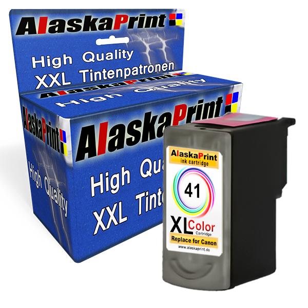Color-1-Tintenpatrone-fuer-Canon-CL-41-XXL-Wow-Pixma-MP-450-MP-460