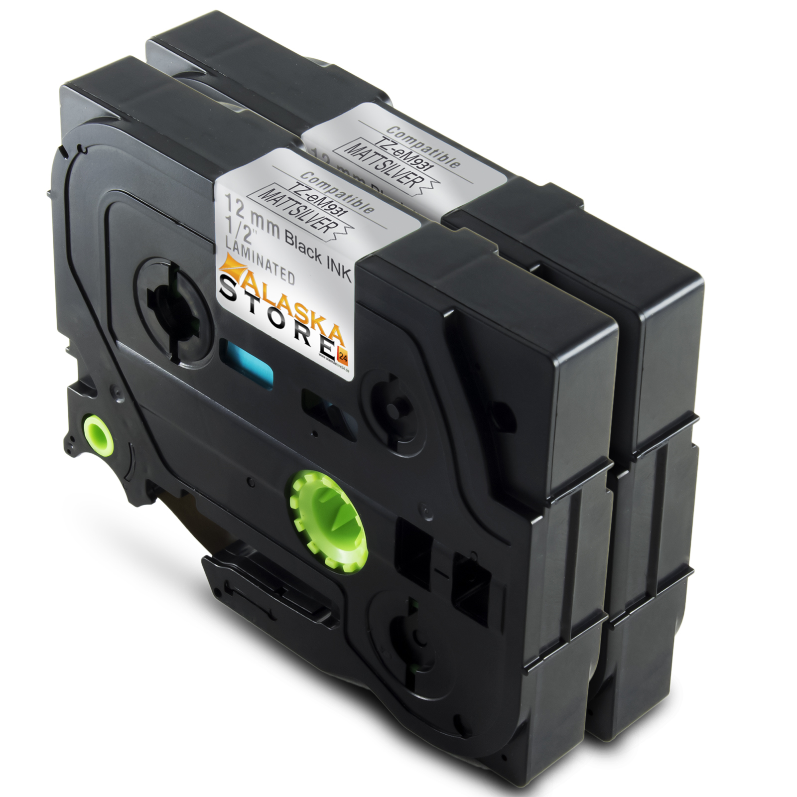 2x-Schreibband-for-Brother-TZ-931-1A-Produkt-P-Touch-1250s-2500PC-1280DT-H300LI