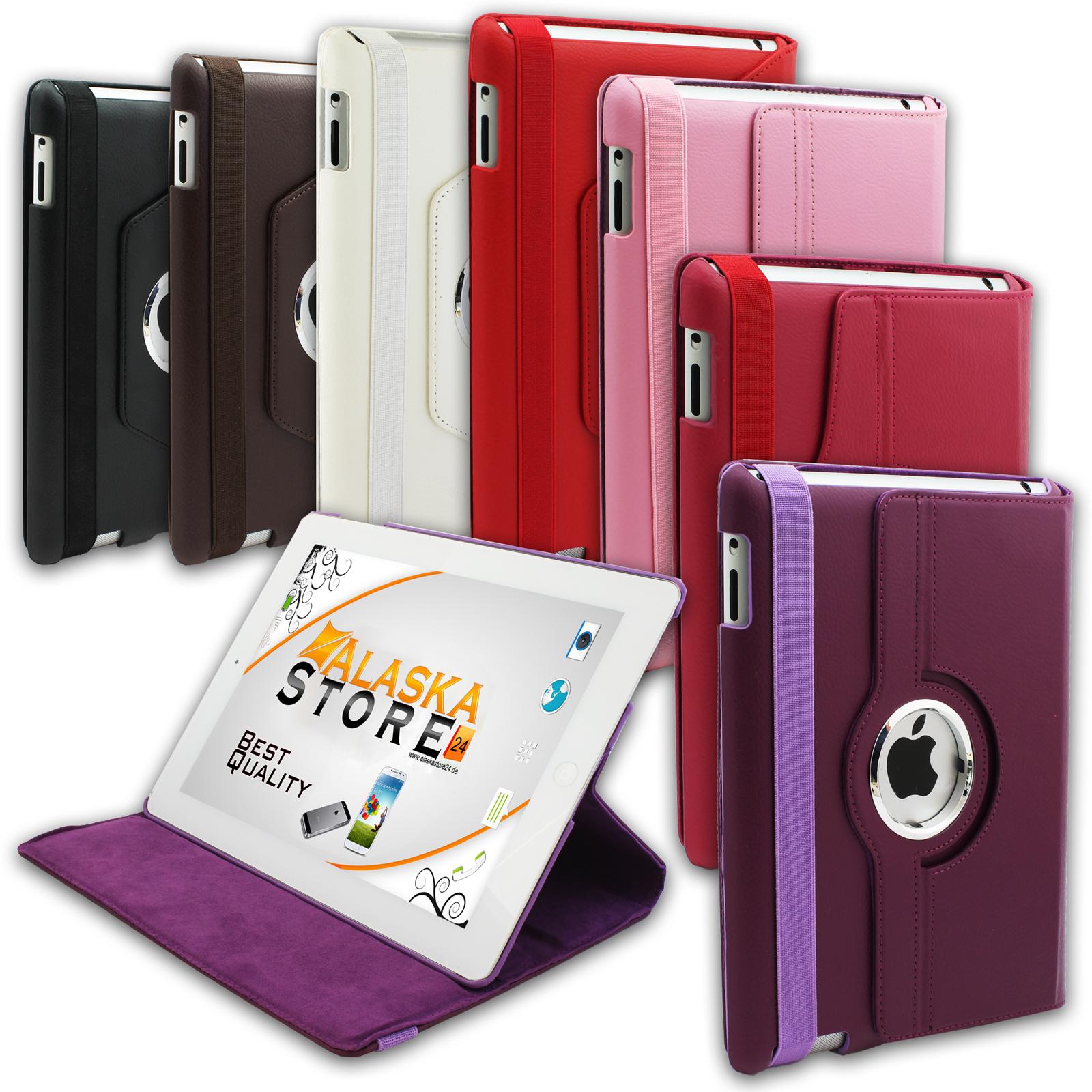 Schutzhuelle-Violett-fuer-iPad-2-3-4-Staender-Retina-Tasche-360-Case-Cover-Etui